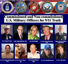 US military officers for 9-11 truth